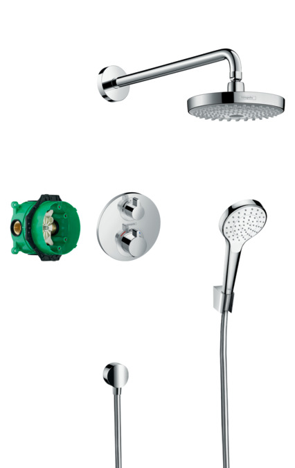 Hansgrohe Shower Sets Croma Select S Shower System With
