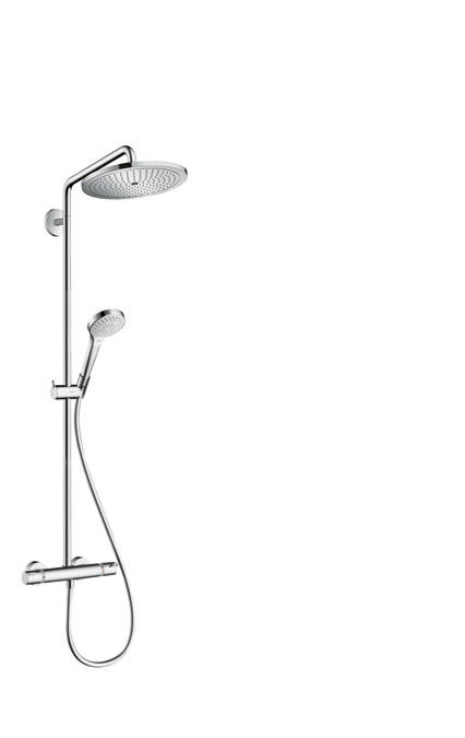 hansgrohe showerpipes croma select s 1 type de jet n article 26790000. Black Bedroom Furniture Sets. Home Design Ideas