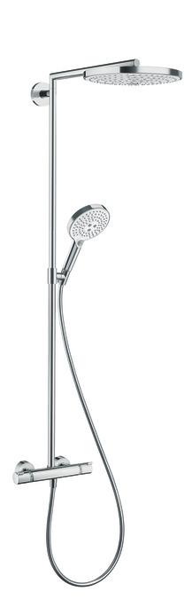 hansgrohe showerpipes raindance select s 2 straalsoorten 27129000. Black Bedroom Furniture Sets. Home Design Ideas