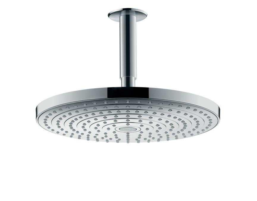 hansgrohe Overhead showers: Raindance Select S, 2 spray modes, 27337000