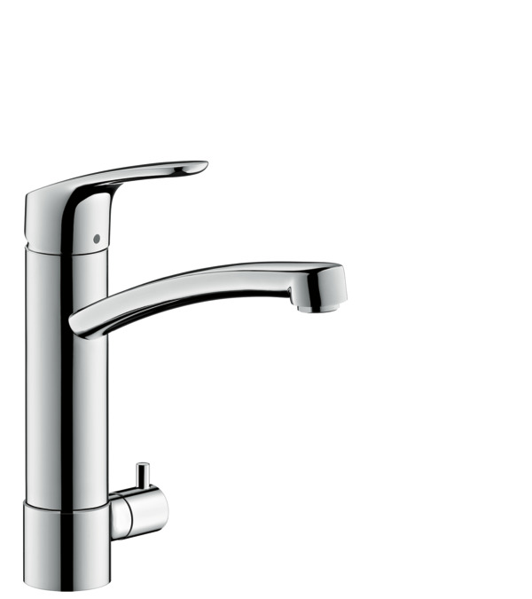 hansgrohe kitchen mixers m41 m414 h200 single lever. Black Bedroom Furniture Sets. Home Design Ideas