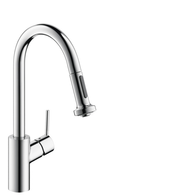 hansgrohe Kitchen faucets: Talis S² Variarc, Talis S 2-Spray HighArc ...
