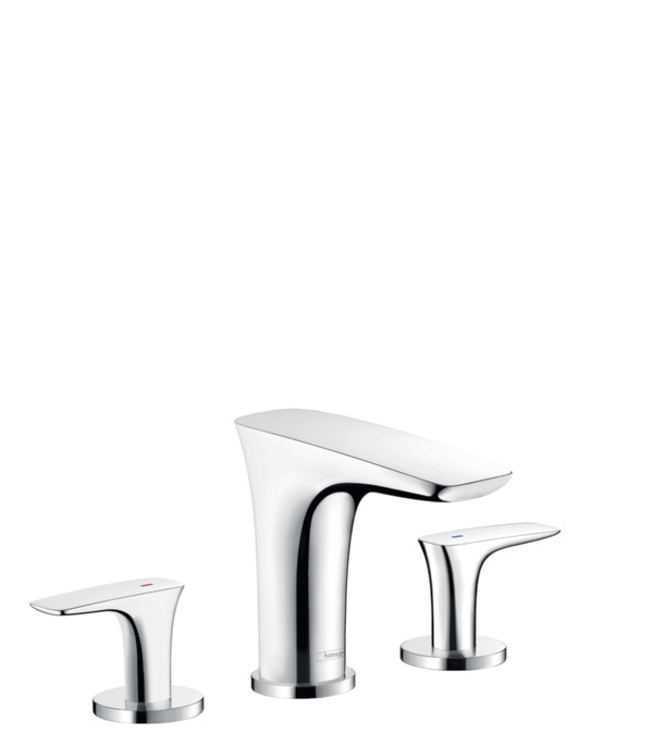 Attractive PuraVida 110 Widespread Faucet Without Pop Up