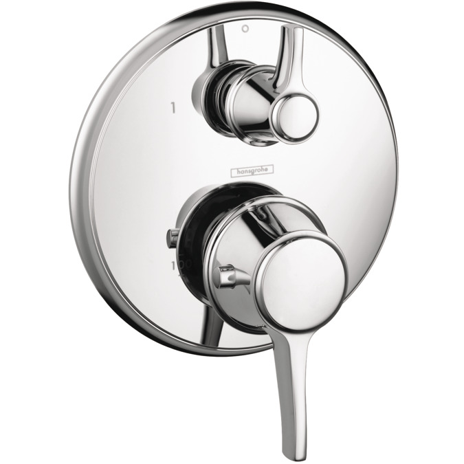 Ecostat Classic Shower faucets: two-handle, 1 consumer, chrome, 15752001