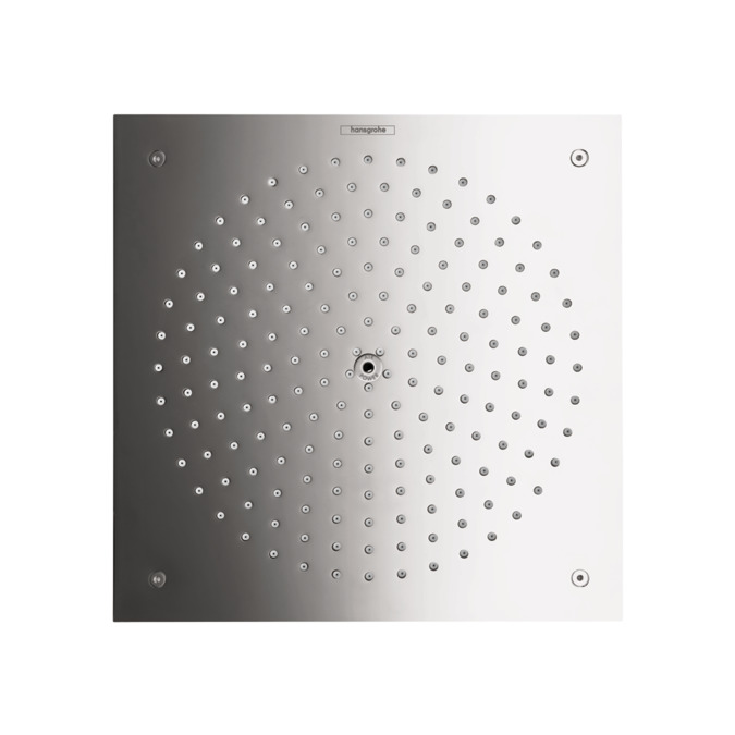 Showerhead 260 Square 1 Jet Trim, 2.5 GPM