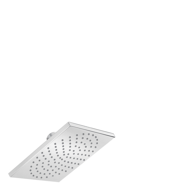 hansgrohe 180 square 1jet showerhead 25 gpm