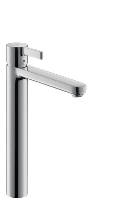 metris s washbasin faucets single lever chrome 31020001. Black Bedroom Furniture Sets. Home Design Ideas
