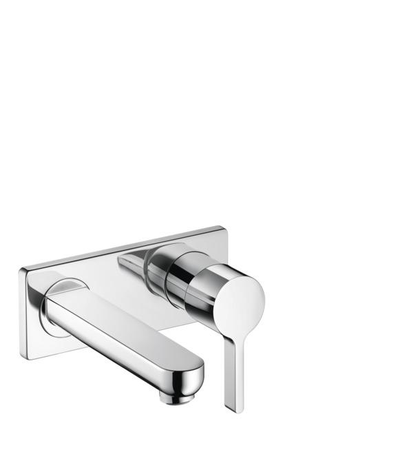 Metris S Washbasin faucets: single lever, chrome, 31163001
