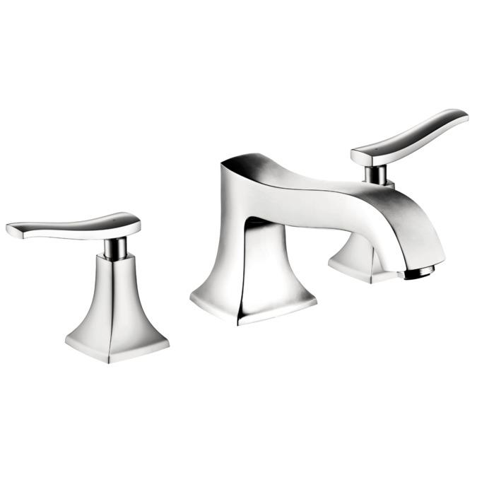 Metris C Bath faucets: chrome, Art. no. 31313001