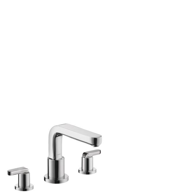 single hole roman tub faucet. Metris S 3 Hole Roman Tub Set Trim with Lever Handles Bath faucets  two handle 1 consumer chrome 31438001