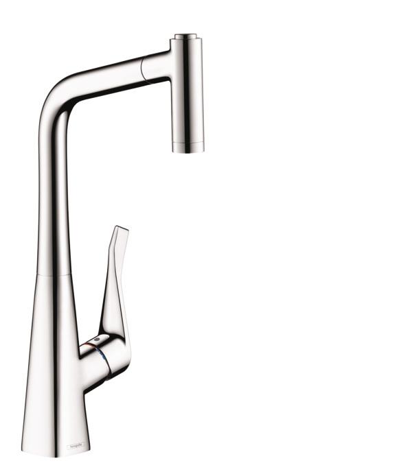 hansgrohe Kitchen faucets: Metris, Metris 2-Spray Prep Kitchen ...