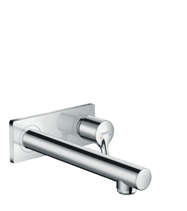 Wall Mounted Single Handle Faucet Trim, 1.2 GPM