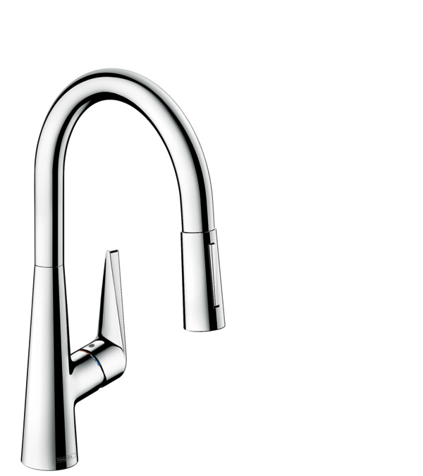 hansgrohe Kitchen faucets: Talis S, Talis S 2-Spray HighArc Kitchen ...