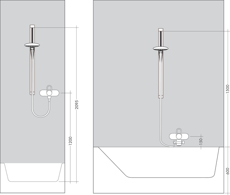 Hansgrohe shower sets puravida shower set ecosmart with - Hansgrohe raindance shower set ...