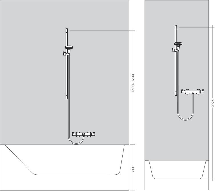 Hansgrohe Shower Sets Croma 100 Croma 100 Vario Hand Shower