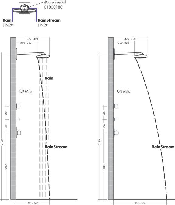 hansgrohe fejzuhanyok raindance select e 3 f le v zsug r 26468000. Black Bedroom Furniture Sets. Home Design Ideas