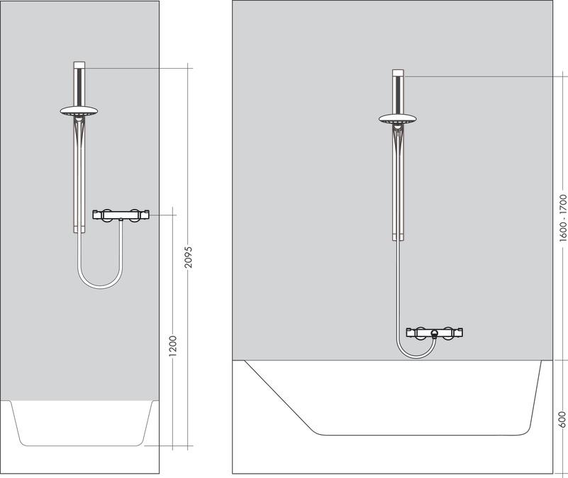 hansgrohe brausesets puravida brauseset mit brausestange. Black Bedroom Furniture Sets. Home Design Ideas
