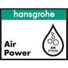 Hansgrohe AirPower logo.