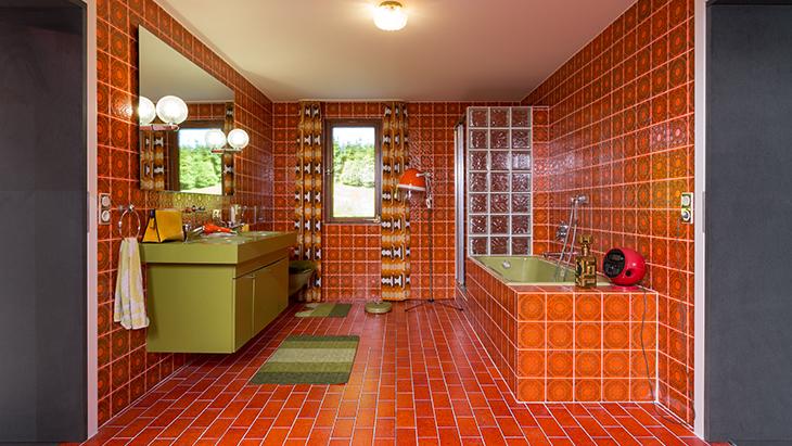 Badezimmer Aus Den 70er Jahren.