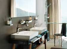 Bathroom environment with Axor Citterio E.