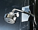 Douche in combinatie met Axor Citterio.