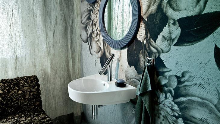 Badkamer Axor Urquiola : Inspiratie de organisch minimalistische badkamer hansgrohe