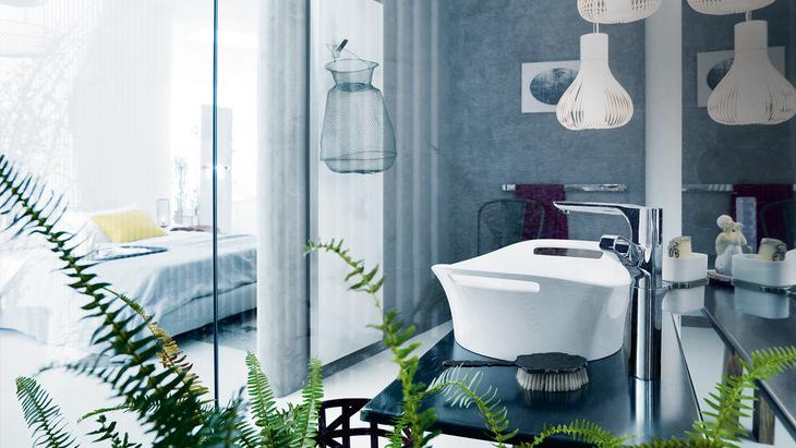 Axor Urquiola wash bowl. Axor wash basins and bath tubs   Hansgrohe INT