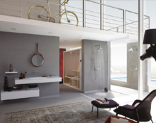 Loft mit Axor ShowerProducts designed by Front.