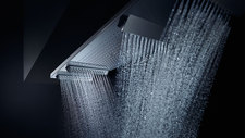 AXOR ShowerHeaven overhead shower.