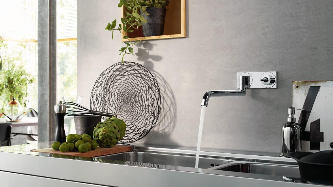 Rubinetteria cucina Axor, design cucina, lavello | Hansgrohe SRL