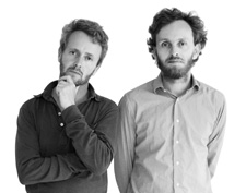 A portrait of Ronan and Erwan Bouroullec