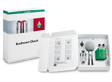 EcoSmart Check package with all its information and aids.