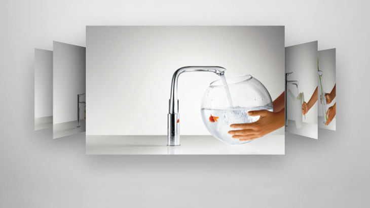 Hansgrohe ComfortZone Finder view
