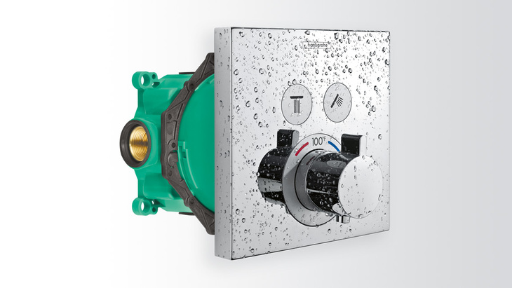 hansgrohe shower valve. Ibox Concealed Installation For Showerselect Hansgrohe Us Shower Valve