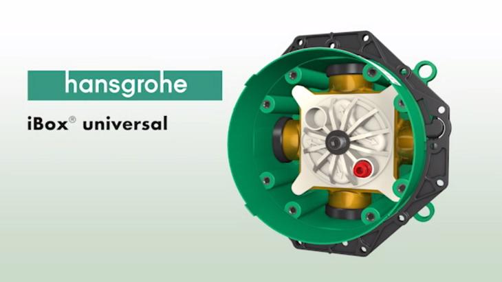 Ibox Universal Unterputzkorper Grundkorper Hansgrohe De