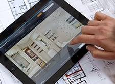 Bathroom planning using iSpecify on your tablet