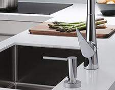 Kitchen accessories by hansgrohe.
