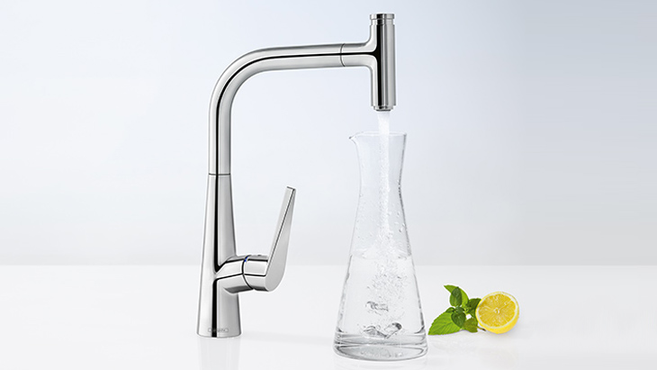 Stupendous Talis Kitchen Faucets Swivel Spout Hansgrohe Us Download Free Architecture Designs Intelgarnamadebymaigaardcom