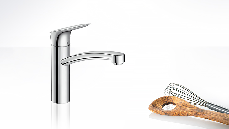 Logis single-hole kitchen faucet