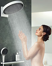 Rainfinity overhead shower, hansgrohe.