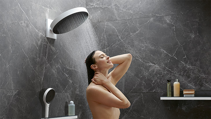 Rainfinity Showerpipe, hansgrohe.