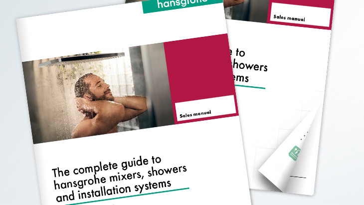 Cover photo of the hansgrohe Sales Manual 2017.