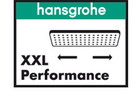 The Hansgrohe XXL Performance logo.