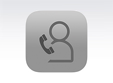 Icon for a telephone consultation.