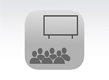 Icon for audience at an event