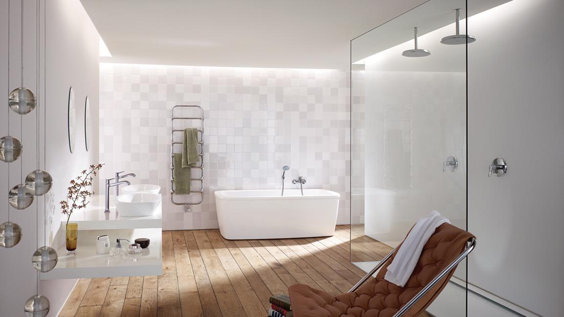 Droombadkamer badkamerdroom badkamerinspiratie hansgrohe