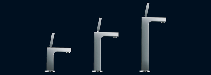 Axor Citterio mixers in different lengths: tailored to your personal desires.
