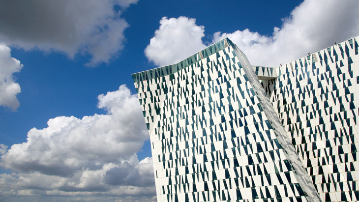 Bella Sky Comwell Hotel in Copenhagen from the outside. Photo © Claus Starup.