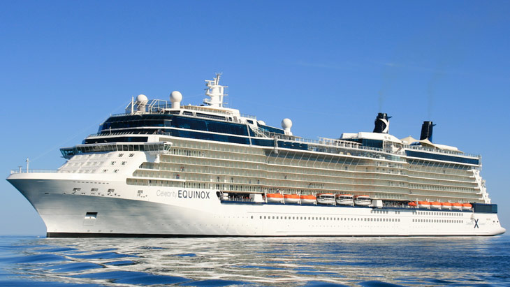 Hansgrohe mixers and shower systems are on board on the Celebrity Equinox cruise ship.