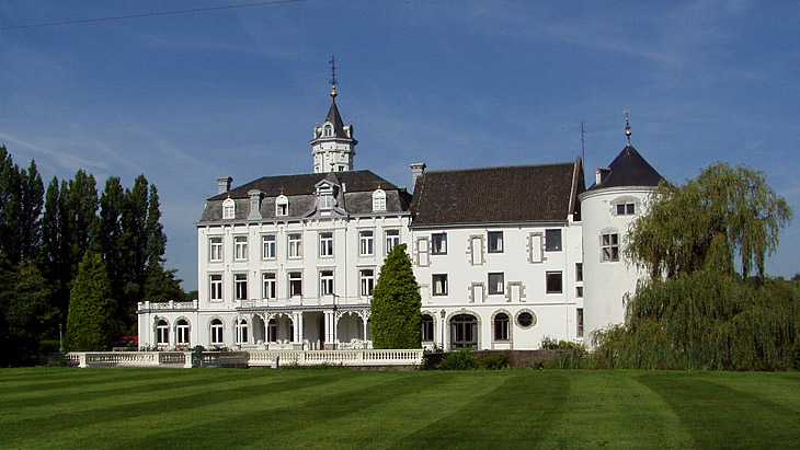 The Chateau Bethlehem accommodates Zuyd University's Hotel Management School in Maastricht.